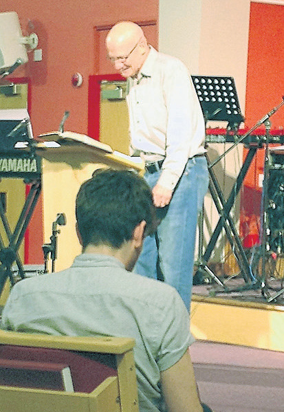 C.J. Mahaney preaching | photo: JEB